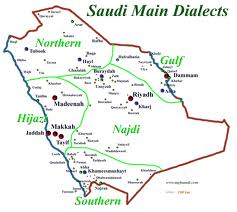 saudi dialects